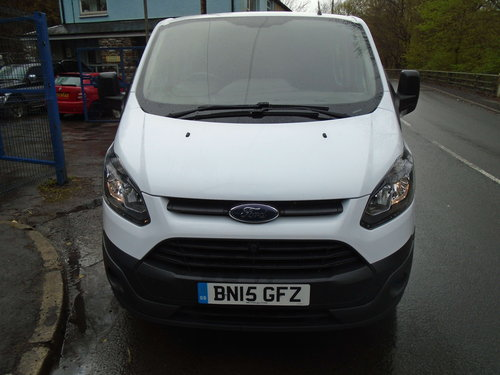 2015 Ford Transit Custom 2.2TDCi ( 125PS ) Double Cab-in-Van For Sale (picture 2 of 6)
