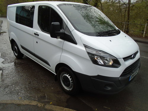 2015 Ford Transit Custom 2.2TDCi ( 125PS ) Double Cab-in-Van For Sale (picture 3 of 6)