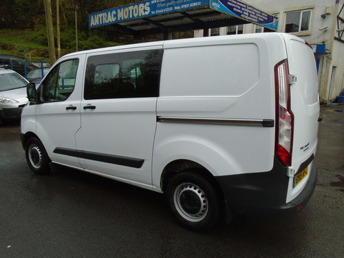 2015 Ford Transit Custom 2.2TDCi ( 125PS ) Double Cab-in-Van For Sale (picture 4 of 6)