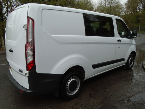 2015 Ford Transit Custom 2.2TDCi ( 125PS ) Double Cab-in-Van For Sale (picture 6 of 6)