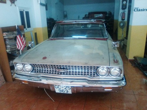 1963 FORD GALAXIE 500 XL For Sale (picture 2 of 6)