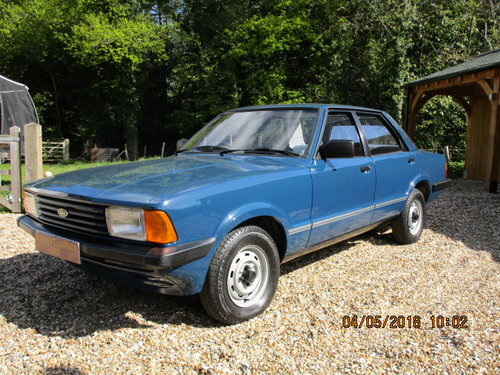 1982 Ford Cortina 1600 Base (10678 Miles From New) SOLD (picture 1 of 6)