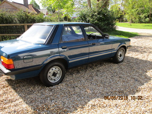 1982 Ford Cortina 1600 Base (10678 Miles From New) SOLD (picture 2 of 6)