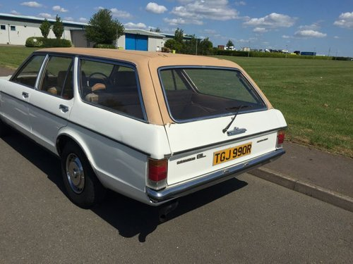 1976 STOLEN WHITE FORD GRANADA MARK 1 AUTO ESTATE For Sale (picture 2 of 4)