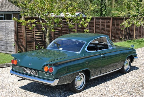 1964 Ford Consul Capri Pillarless Coupe SOLD (picture 5 of 6)
