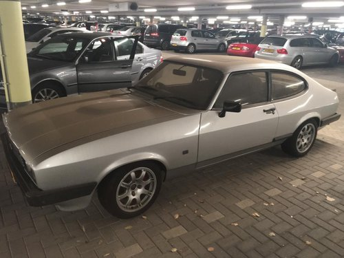 1984 Ford Capri with 2800 Cosworth engine RHD For Sale (picture 1 of 6)