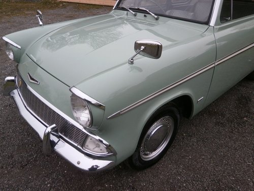 1964 FORD ANGLIA 123E SUPER GREEN/WHITE SIMPLY THE BEST!! SOLD (picture 3 of 6)
