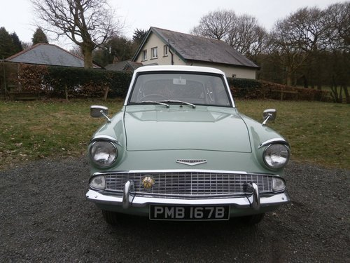 1964 FORD ANGLIA 123E SUPER GREEN/WHITE SIMPLY THE BEST!! SOLD (picture 4 of 6)