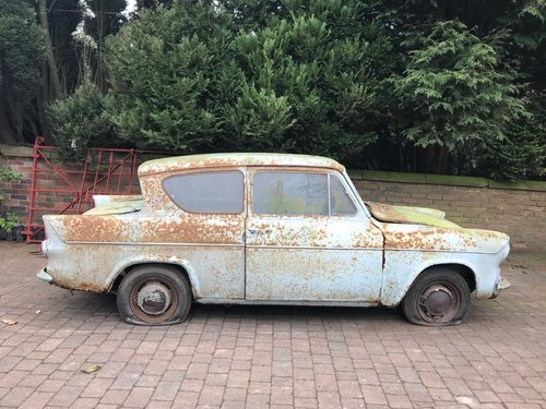 1960 FORD ANGLIA 105E DELUXE * BARN FIND 12,670 MILES!! * SOLD (picture 6 of 6)