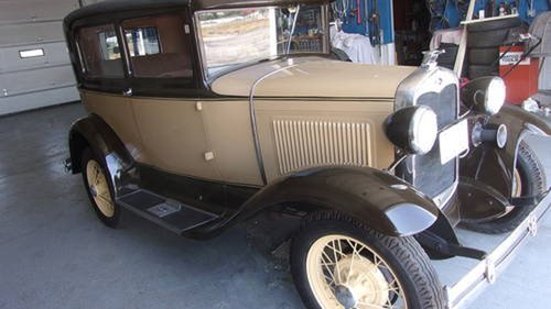 1930 Ford Model  2DR Sedan For Sale (picture 1 of 6)