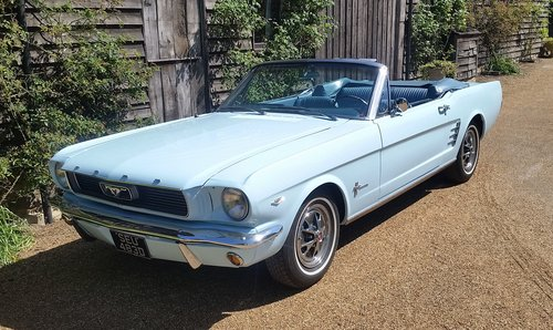 FORD MUSTANG 289 V8 CONVERTIBLE 1966   For Sale (picture 1 of 6)