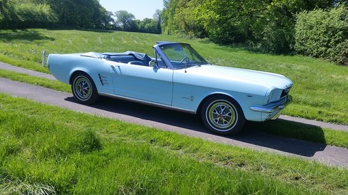 FORD MUSTANG 289 V8 CONVERTIBLE 1966   For Sale (picture 2 of 6)