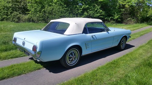 FORD MUSTANG 289 V8 CONVERTIBLE 1966   For Sale (picture 3 of 6)