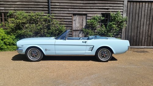 FORD MUSTANG 289 V8 CONVERTIBLE 1966   For Sale (picture 4 of 6)