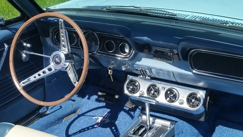 FORD MUSTANG 289 V8 CONVERTIBLE 1966   For Sale (picture 5 of 6)