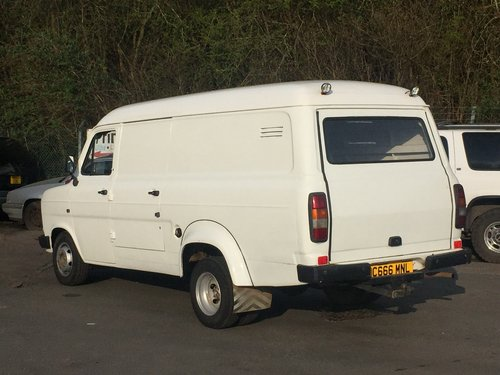 1985 Ford Transit MK II, 3.5 ton, side door, 2.5D 'Banana'  SOLD (picture 2 of 6)