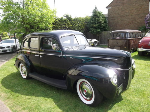 1940  Ford Standard Sedan, Cool Hot Rod, Real Eyecatcher 302/V8 SOLD (picture 1 of 6)