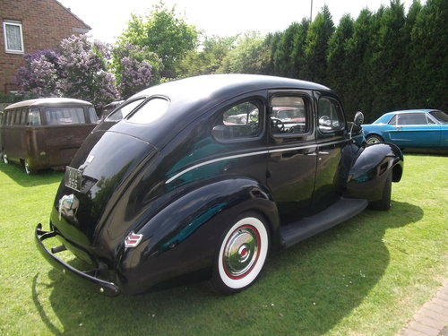 1940  Ford Standard Sedan, Cool Hot Rod, Real Eyecatcher 302/V8 SOLD (picture 4 of 6)