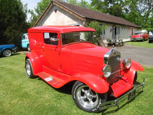 1930 Model A, Steel Bodied Delivery Van, Hot Rod, 351/V8 SOLD (picture 1 of 6)