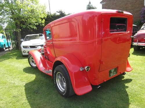 1930 Model A, Steel Bodied Delivery Van, Hot Rod, 351/V8 SOLD (picture 2 of 6)