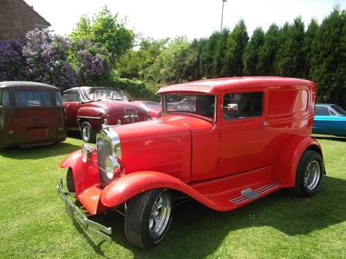 1930 Model A, Steel Bodied Delivery Van, Hot Rod, 351/V8 SOLD (picture 6 of 6)