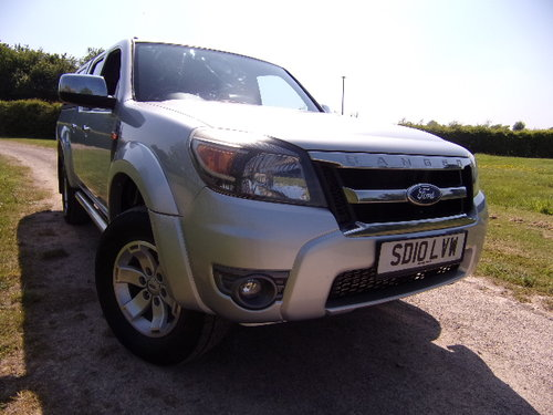 2010 Ford Ranger 2.5TDCi XLT Double Cab (115,868m) For Sale (picture 1 of 6)
