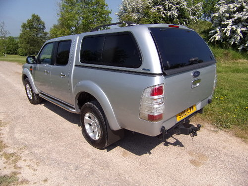 2010 Ford Ranger 2.5TDCi XLT Double Cab (115,868m) For Sale (picture 2 of 6)