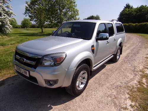 2010 Ford Ranger 2.5TDCi XLT Double Cab (115,868m) For Sale (picture 3 of 6)