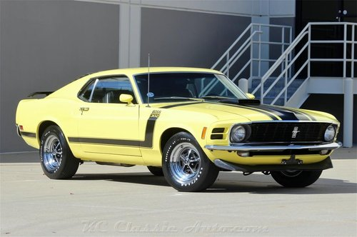 1970 Ford Mustang BOSS 302 Beautifully Restored For Sale (picture 1 of 6)