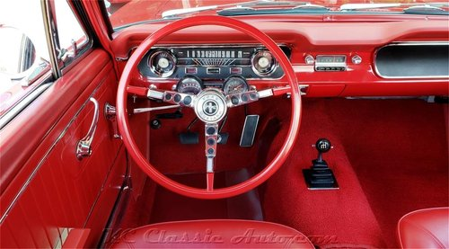 1965 Ford Mustang A-Code Rotisserie Restored For Sale (picture 4 of 6)
