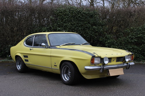 1972 FORD CAPRI PERANA - 5.0 V-8 - ULTRA RARE CAR !!! For Sale (picture 1 of 6)
