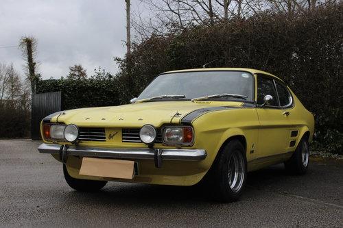 1972 FORD CAPRI PERANA - 5.0 V-8 - ULTRA RARE CAR !!! For Sale (picture 2 of 6)