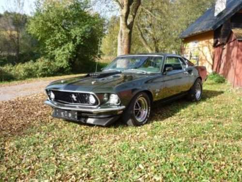 1969 Ford Mustang 6.3 V8 245KW Fastback For Sale (picture 1 of 6)