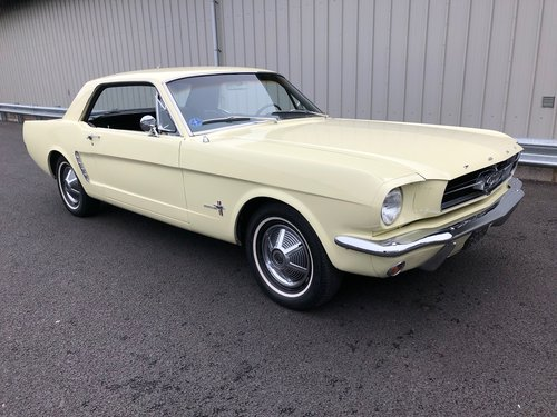 1965 FORD MUSTANG 3.3 COUPE CRUISEMATIC AUTO SOLD (picture 1 of 6)