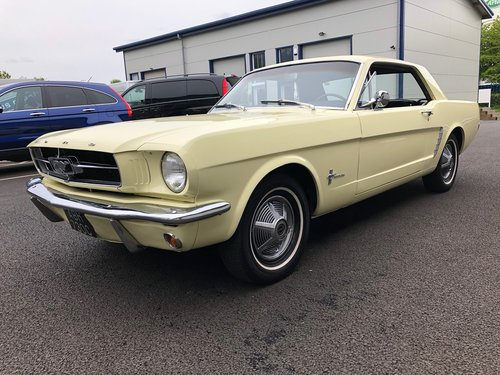 1965 FORD MUSTANG 3.3 COUPE CRUISEMATIC AUTO SOLD (picture 5 of 6)
