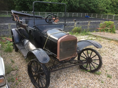 1917 Rare Ford Model T Touring Restoration Project SOLD (picture 1 of 1)
