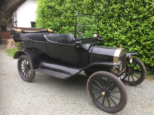 1916 Brass Radiator Ford Model T Touring SOLD (picture 1 of 5)