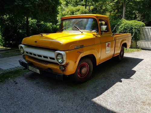 1957 Ford F100, a genuine survivor! For Sale (picture 1 of 4)