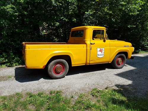 1957 Ford F100, a genuine survivor! For Sale (picture 3 of 4)