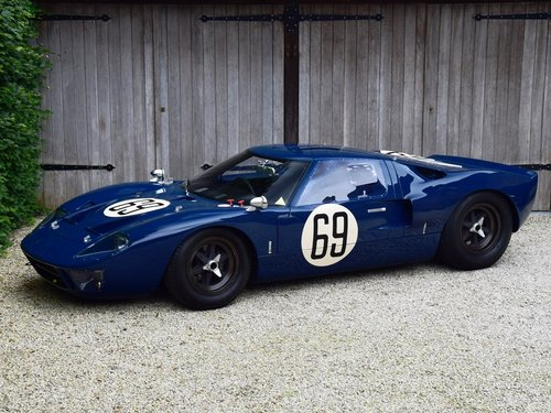 Ford GT40 FIA HTP Appendix K (1962-1965) SOLD (picture 1 of 6)