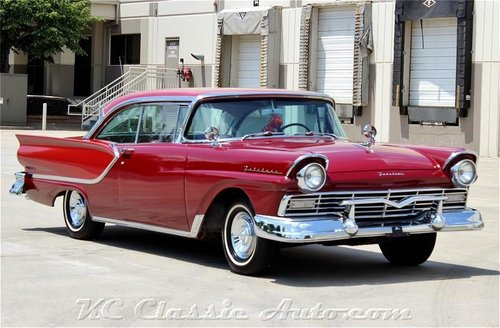 1957 Ford Fairlane Hardtop REAL 2 dr Hardtop!!! V8 Automatic For Sale (picture 1 of 6)