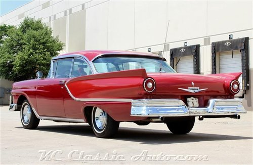 1957 Ford Fairlane Hardtop REAL 2 dr Hardtop!!! V8 Automatic For Sale (picture 2 of 6)