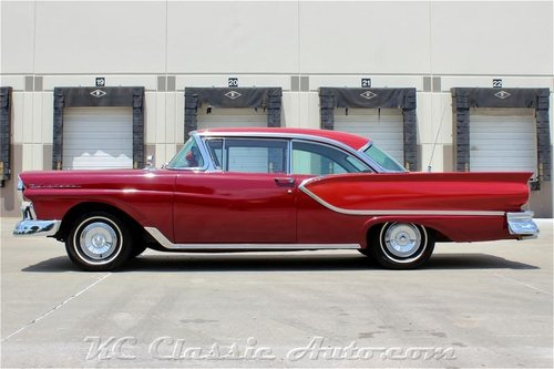 1957 Ford Fairlane Hardtop REAL 2 dr Hardtop!!! V8 Automatic For Sale (picture 3 of 6)