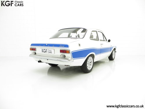 1973 An Exhilarating Mk1 Ford Escort AVO RS2000 Recreation SOLD (picture 5 of 6)