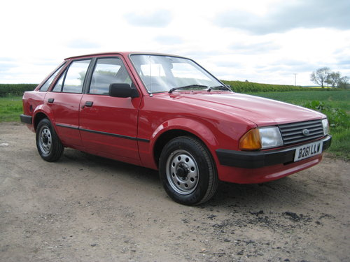 Ford Escort 1.3L 1984 ONLY 34,000 MILES For Sale (picture 1 of 6)