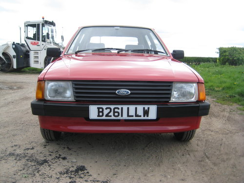 Ford Escort 1.3L 1984 ONLY 34,000 MILES For Sale (picture 2 of 6)