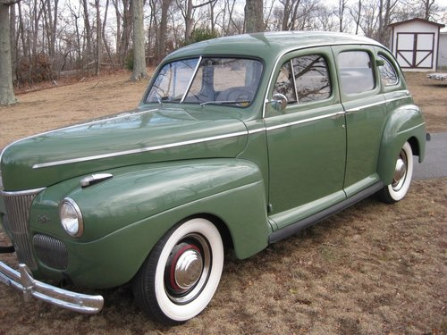 1941 FORD SUPER DELUXE SOLD (picture 1 of 6)