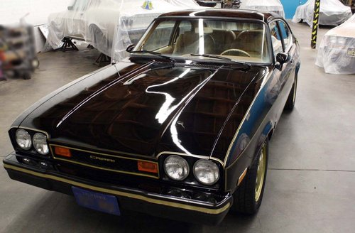 1976 Ford Capri 2.8 Ghia auto LHD For Sale (picture 1 of 6)