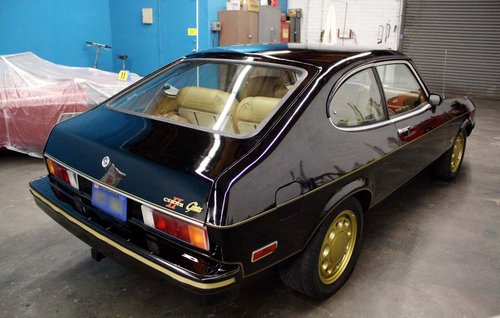1976 Ford Capri 2.8 Ghia auto LHD For Sale (picture 2 of 6)
