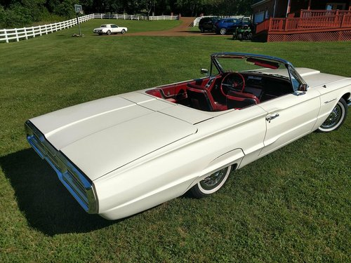 1964 Ford Thunderbird Convertible Highly Restored For Sale (picture 1 of 6)